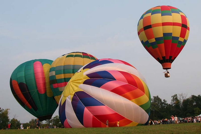 Metamora Hot Air Balloon Festival - Peter Gilles - Metamora Photo